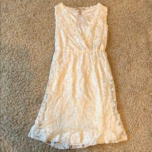 American Rag XS white lace dress